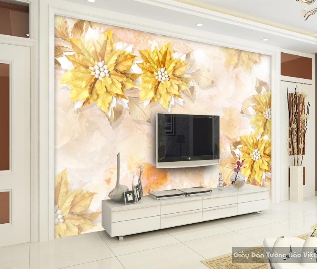 Giấy giấy dán tường đẹp 3D K16134473