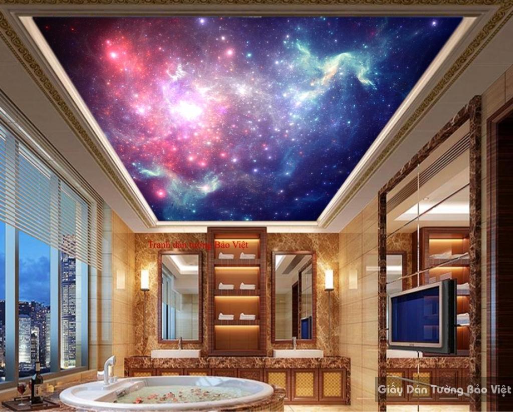 Tranh dán trần nhà C069