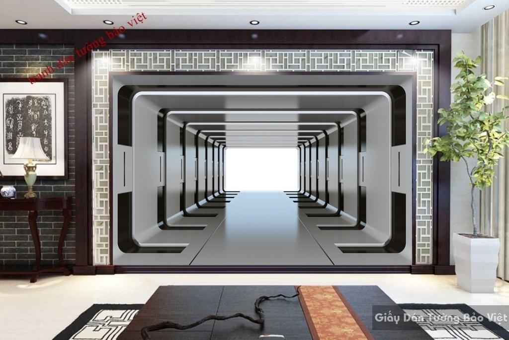 Tranh dán tường 3D-016