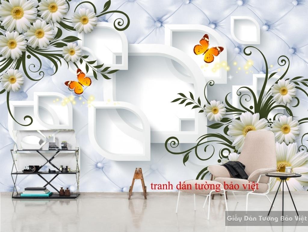 Tranh dán tường 3D-026