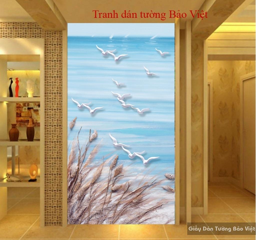 Tranh dán tường 3D K013