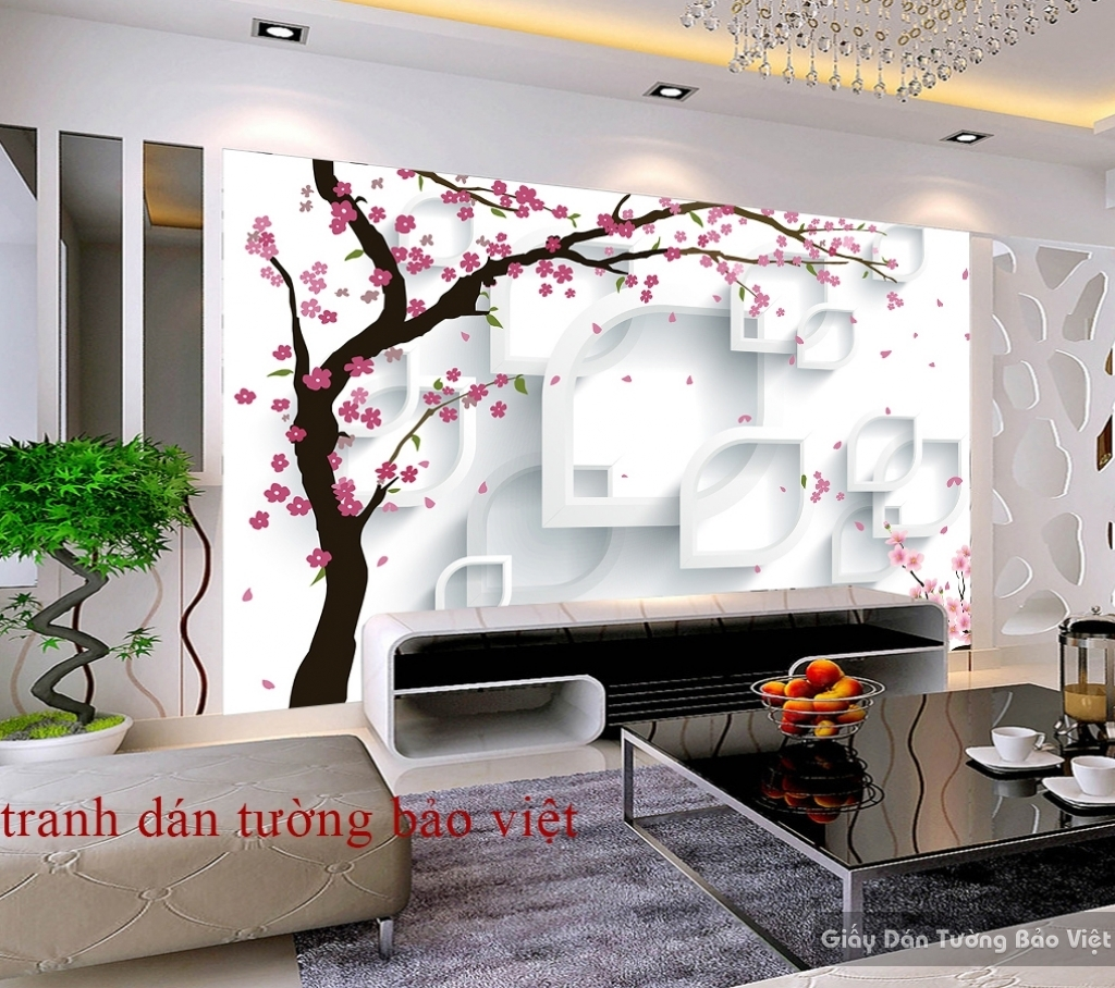 Tranh dán tường 3D K16438350