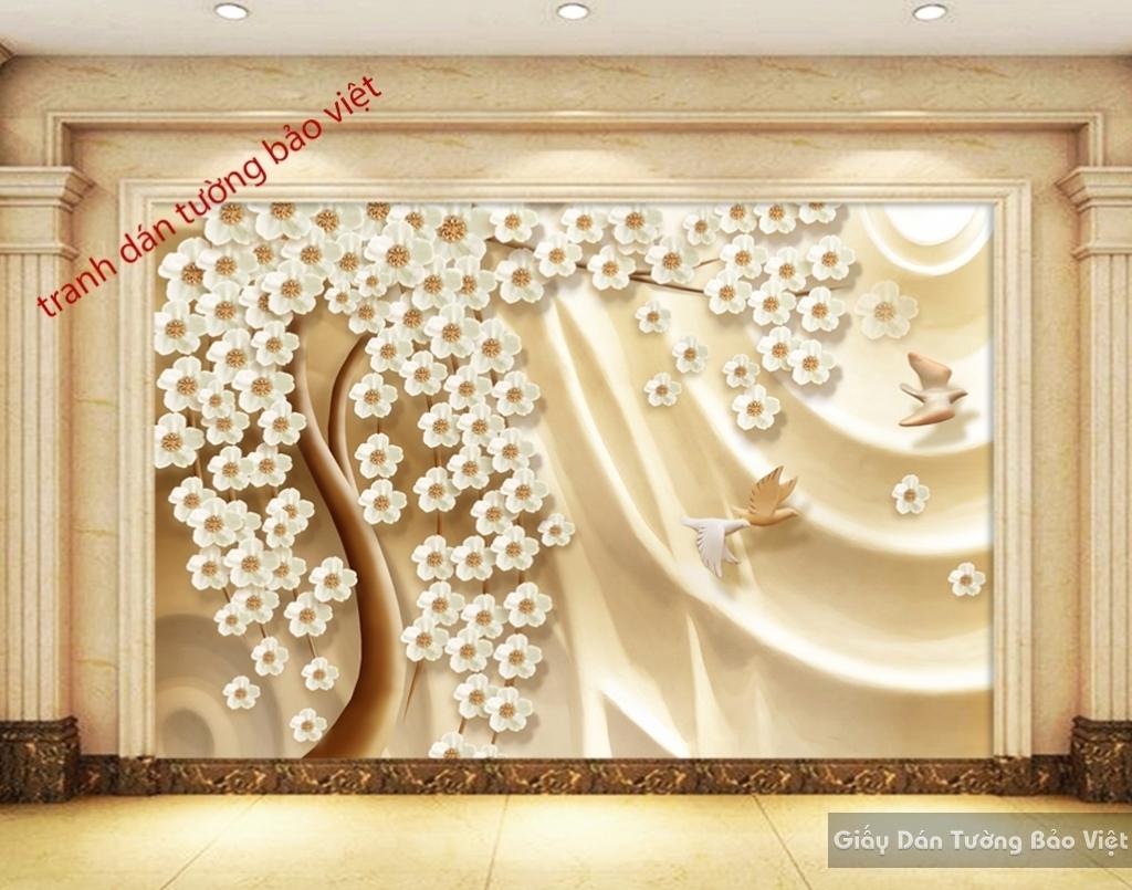 Tranh dán tường 3D K16644540