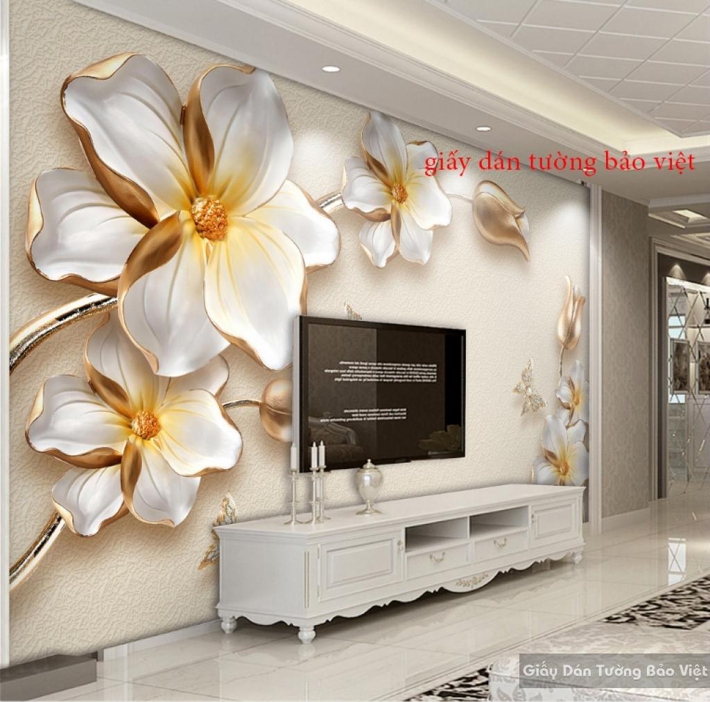 Tranh dán tường 3D đẹp Giá rẻ FL052