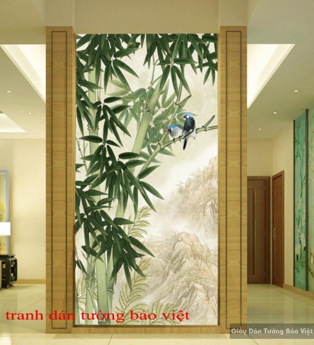 Tranh d n t ng tr127 tranh d n t ng b o vi t for Papel mural living comedor