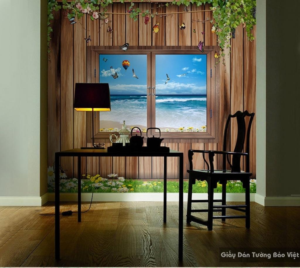 Tranh dán tường cửa sổ 12659558