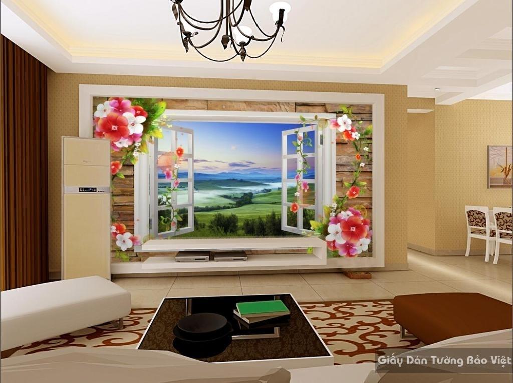 Tranh dán tường cửa sổ 15008814
