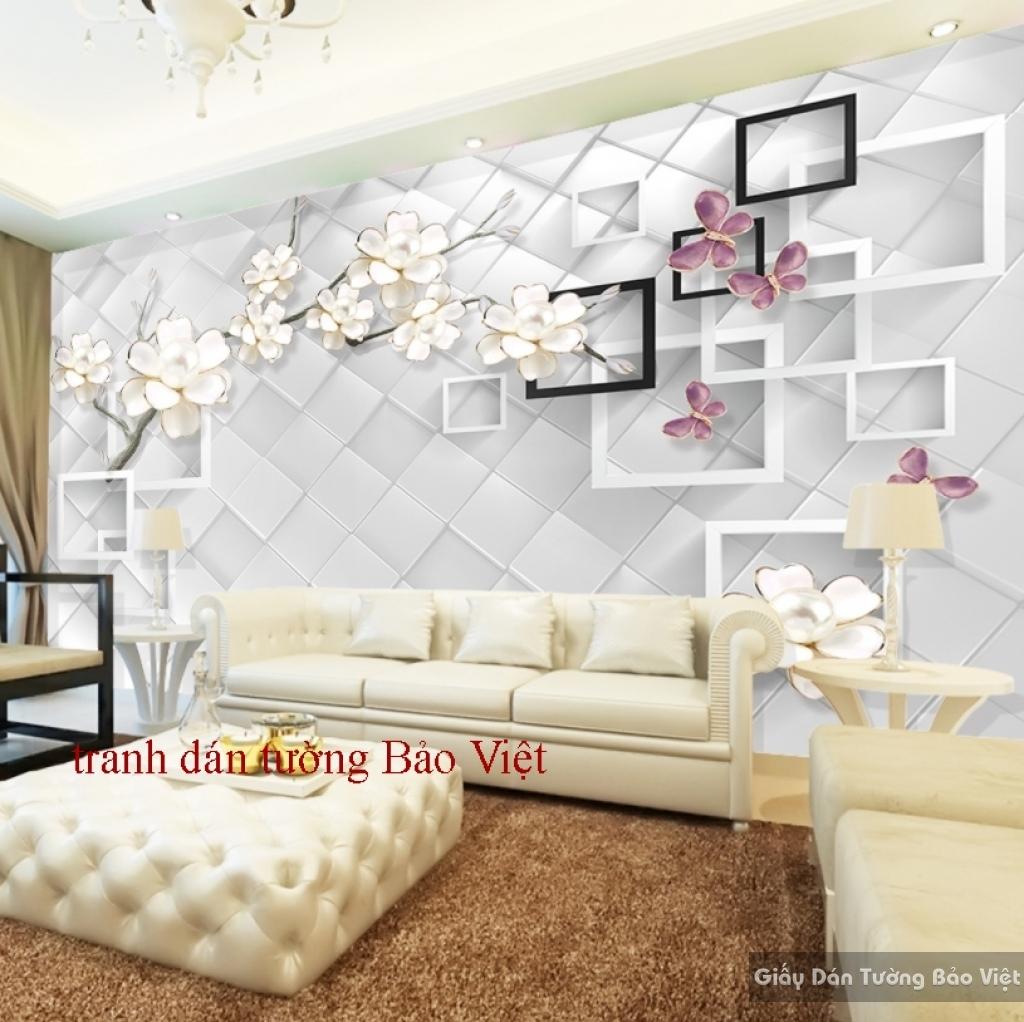 Tranh dán tường đẹp 3D-029