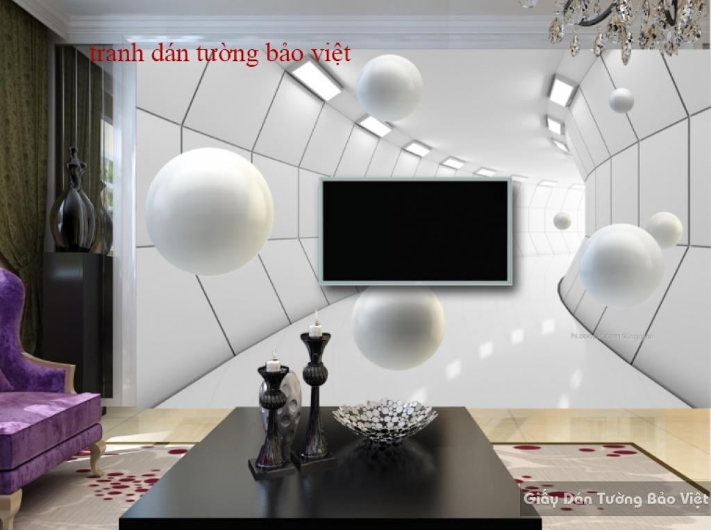 Tranh dán tường đẹp 3D-040