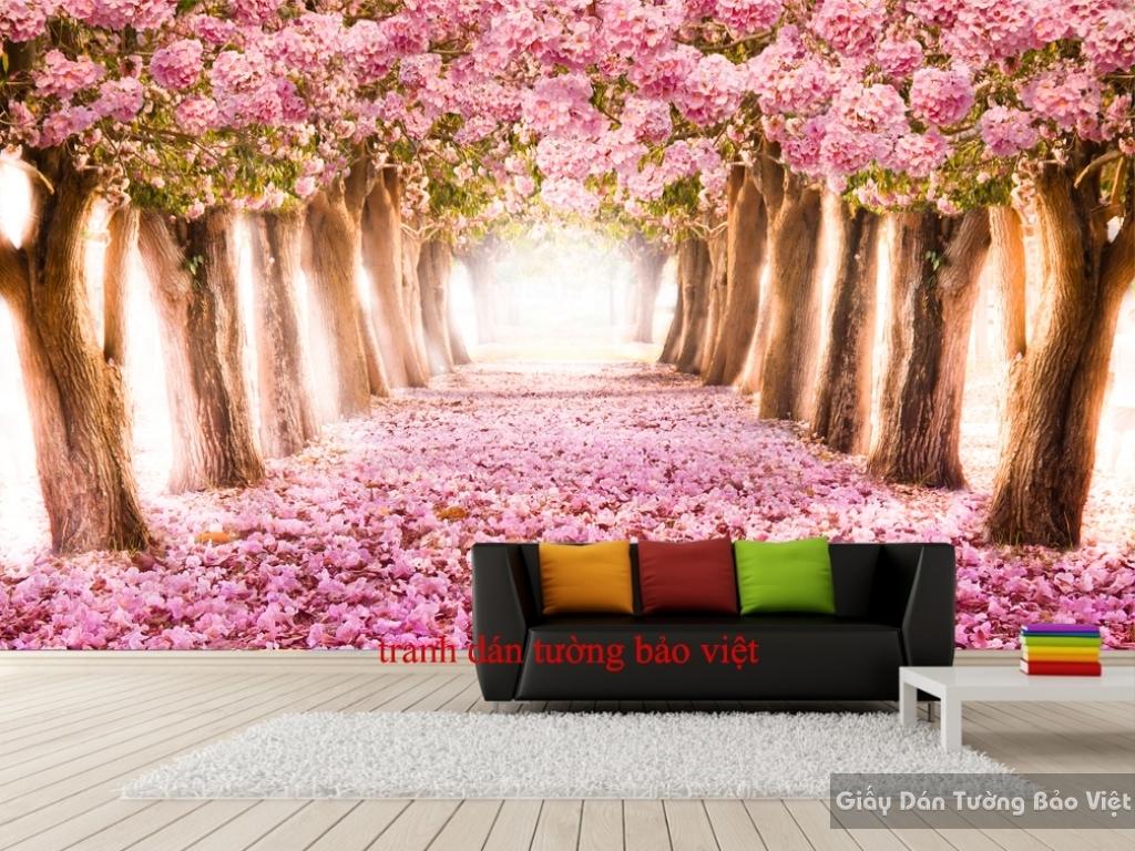 Tranh dán tường phong cảnh H094