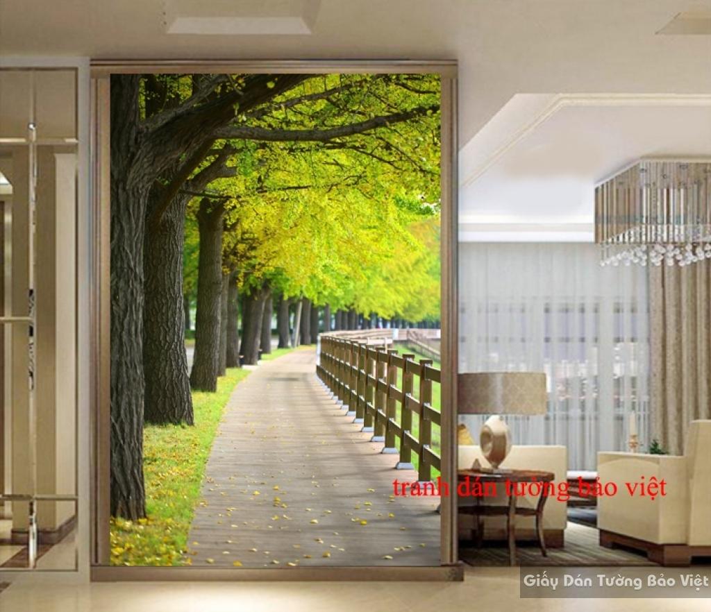 Tranh dán tường phong cảnh Tr128
