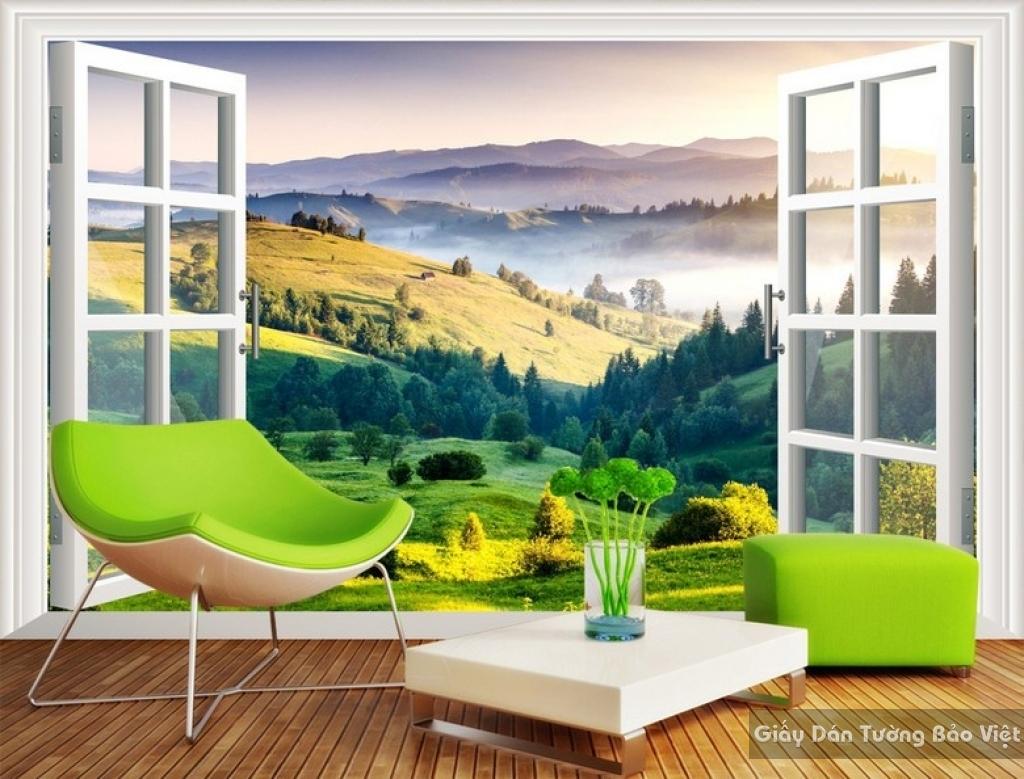 Tranh dán tường phong cảnh thiên nhiên Fi003