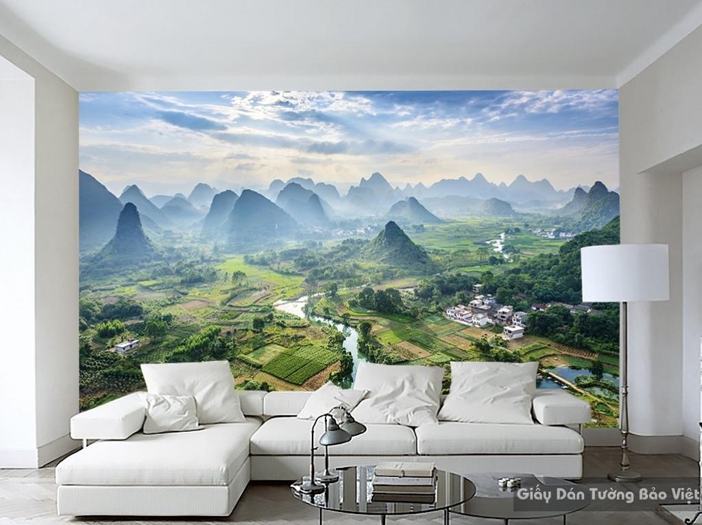 Tranh dán tường phong cảnh thiên nhiên Fi004