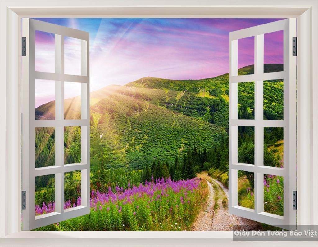 Tranh dán tường phong cảnh thiên nhiên Fi009