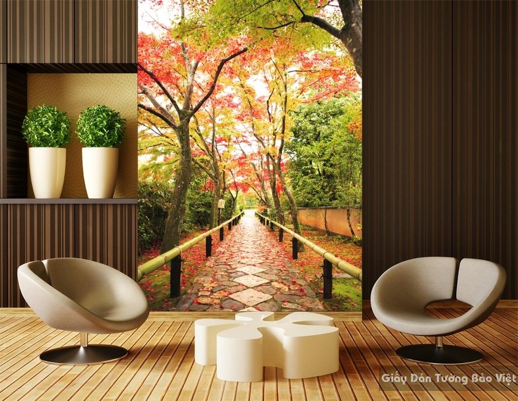 Tranh dán tường phong cảnh thiên nhiên Fi012