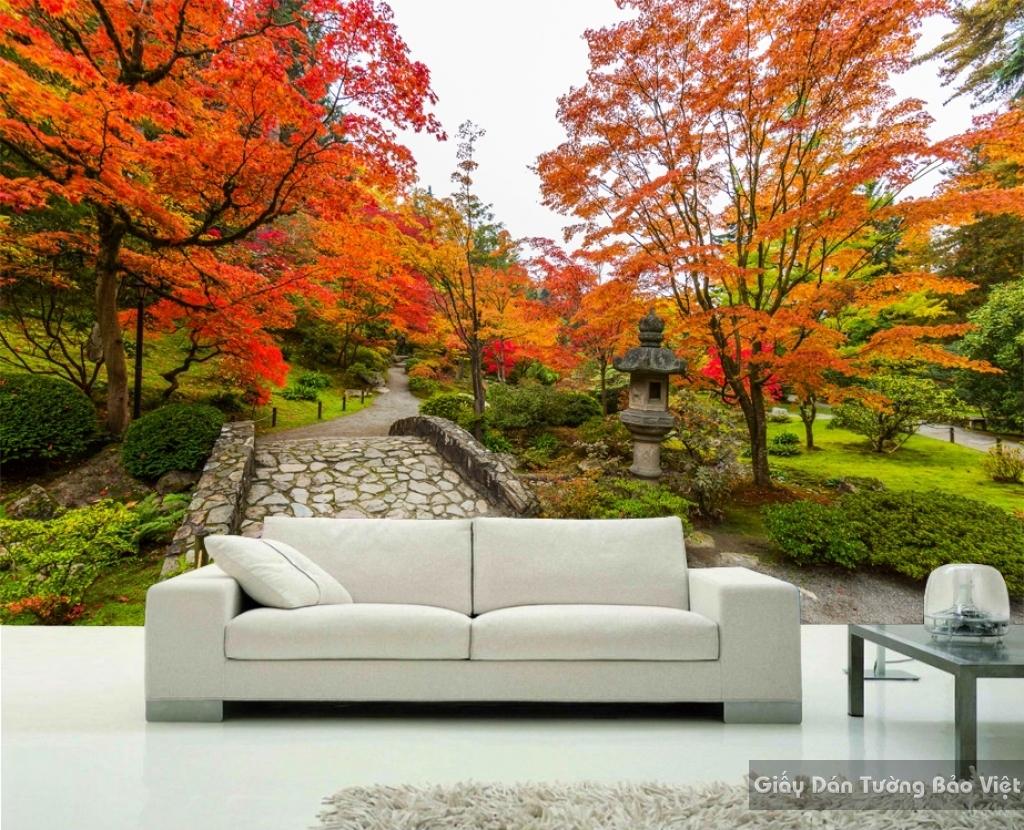 Tranh dán tường phong cảnh thiên nhiên Fi014
