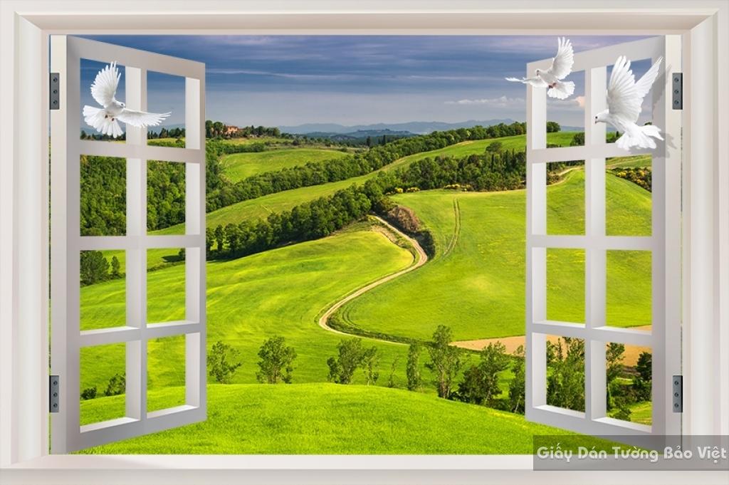 Tranh dán tường phong cảnh thiên nhiên Fi020
