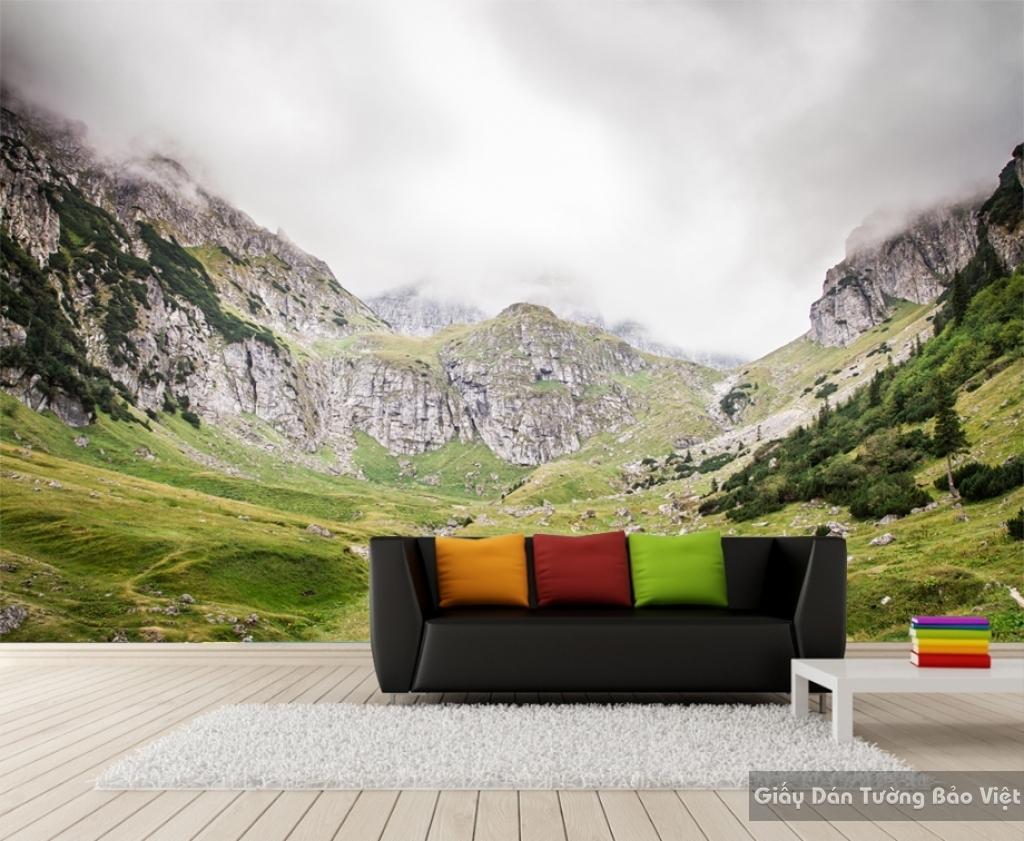 Tranh dán tường phong cảnh thiên nhiên M005
