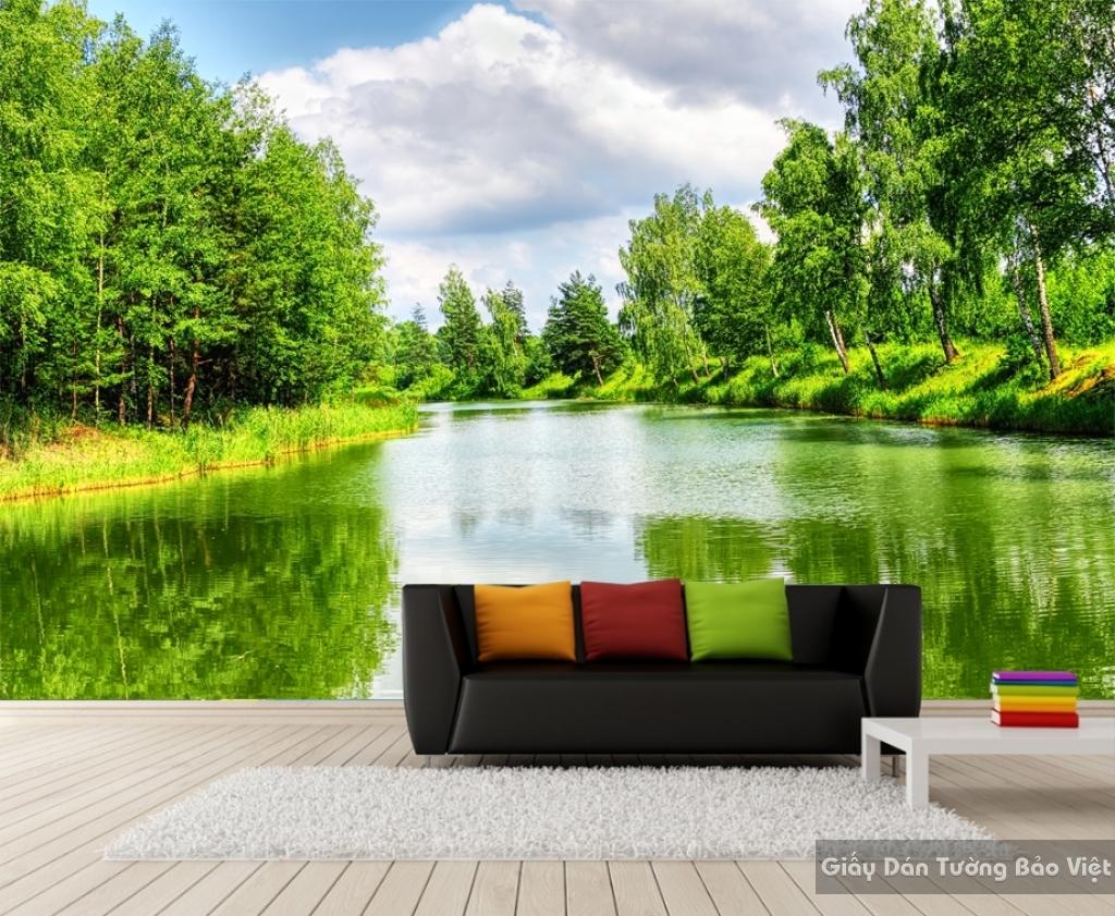 Tranh dán tường phong cảnh thiên nhiên M012