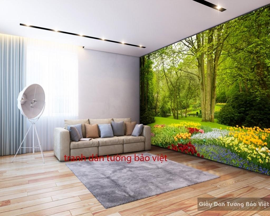 Tranh dán tường phong cảnh thiên nhiên Tr082