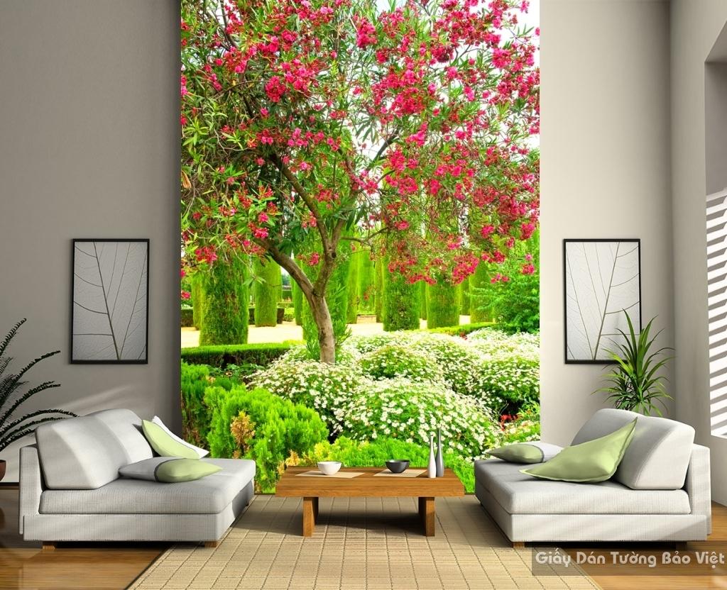 Tranh dán tường phong cảnh thiên nhiên Tr092