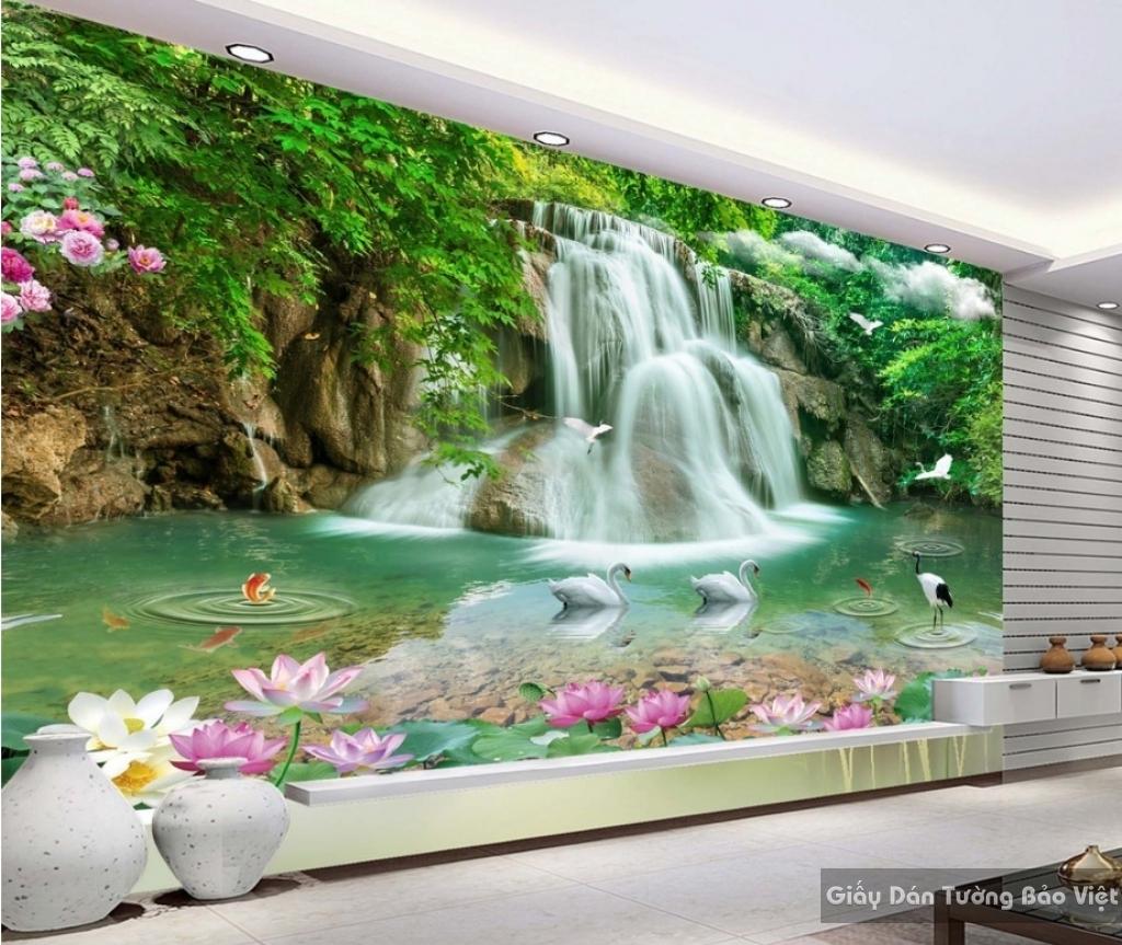 Tranh Gạch 3D ốp Tường Phong Thủy FT014