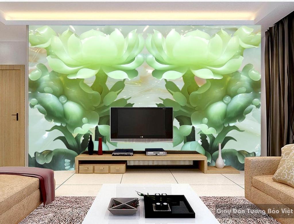 Tranh giấy dán tường hoa 3D FL032