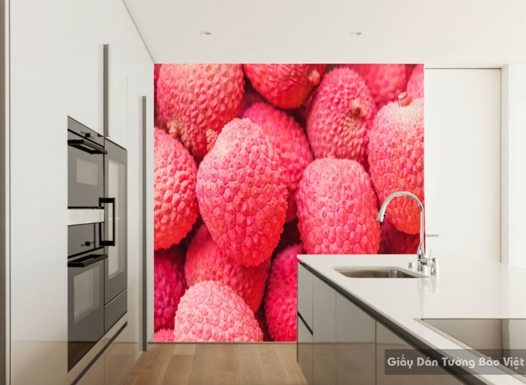Tranh giấy dán tường hoa 3D H057
