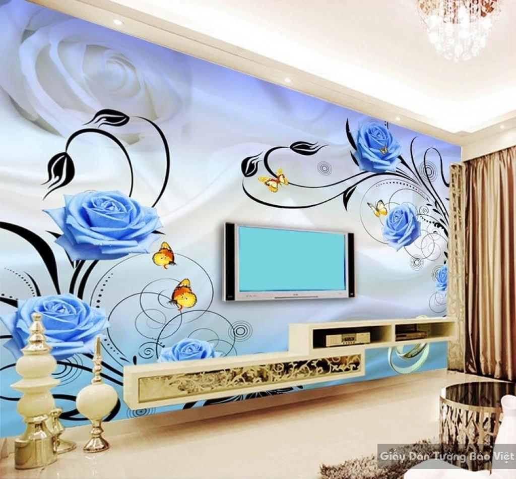 giấy dán tường cho phòng khách 13584106