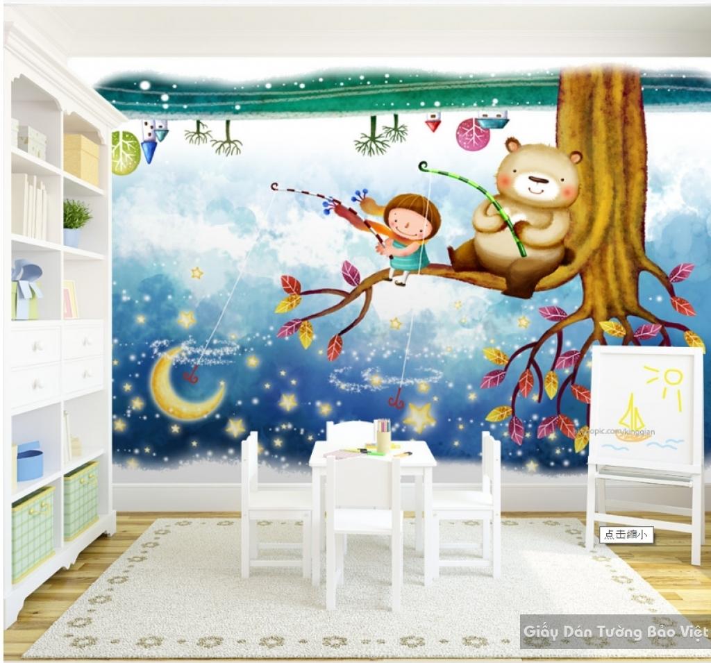 giấy dán tường cho phòng trẻ em 15413968
