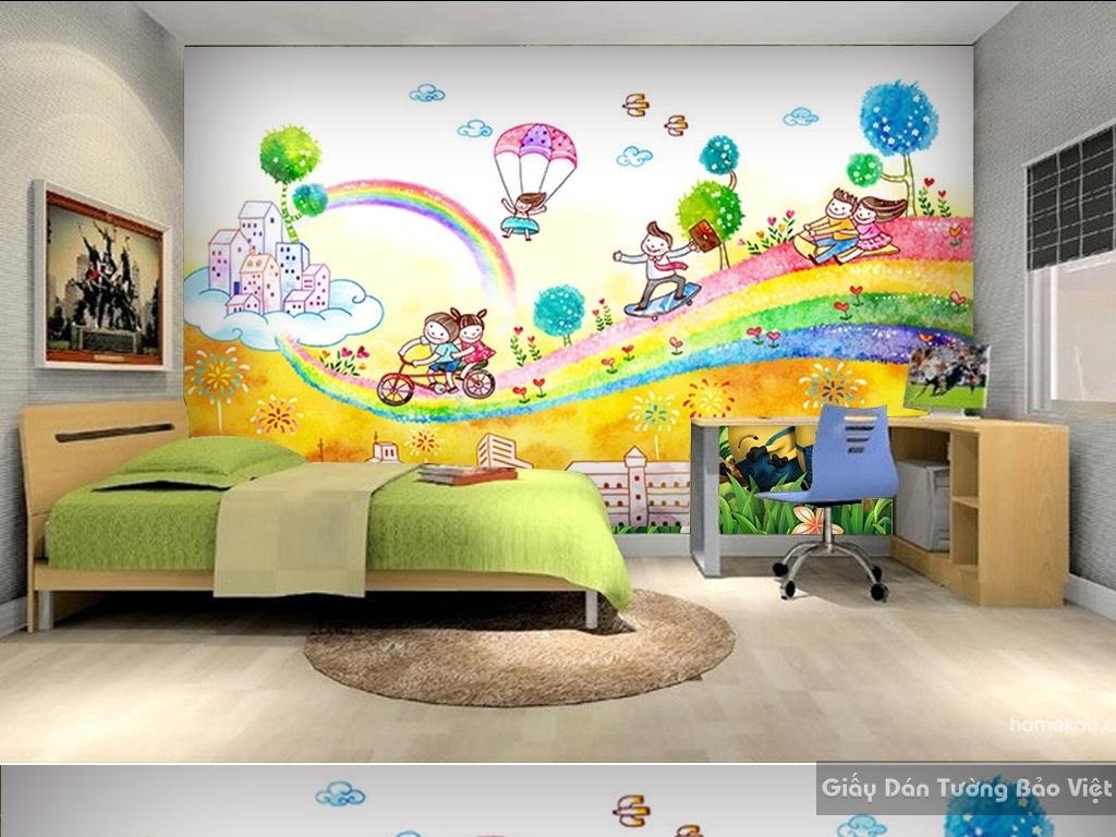 giấy dán tường cho trẻ em 15178257
