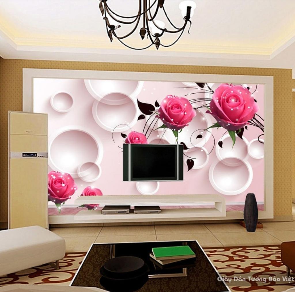 giấy dán tường phòng khách 111505010