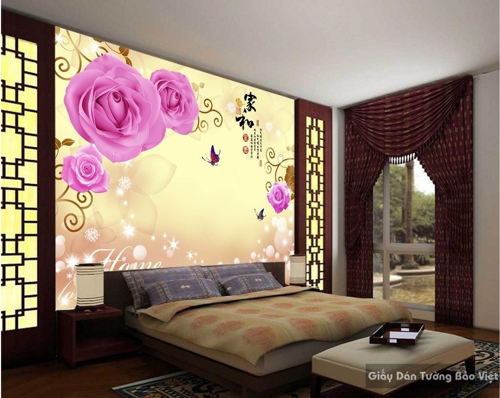 giấy dán tường phòng ngủ 11