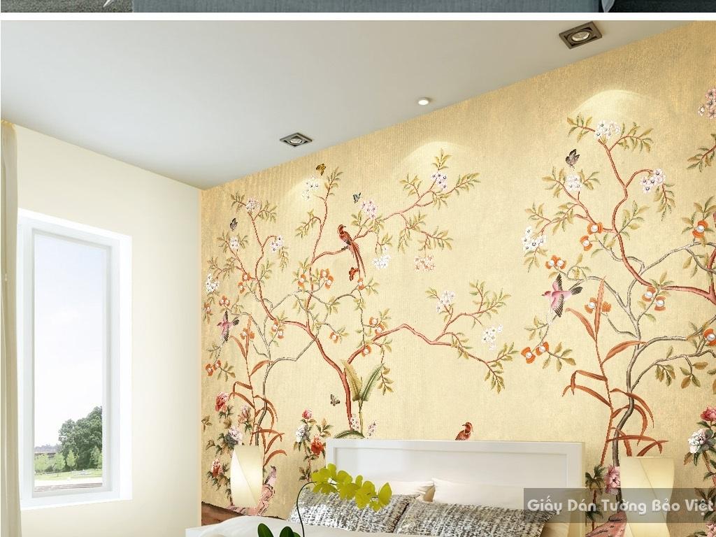 giấy dán tường phòng ngủ 21