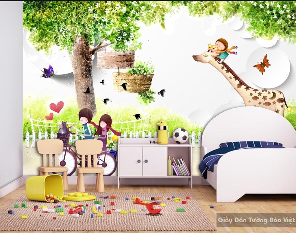 giấy dán tường phòng trẻ em 13667520