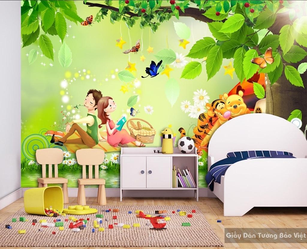 giấy dán tường phòng trẻ em 14803041