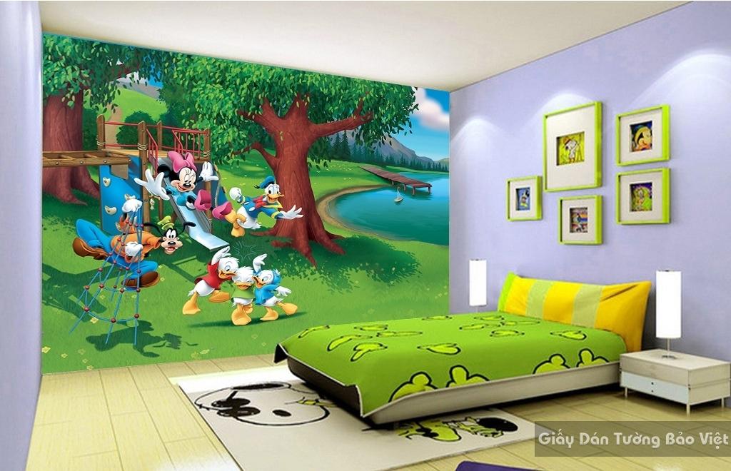 giấy dán tường phòng trẻ em K106