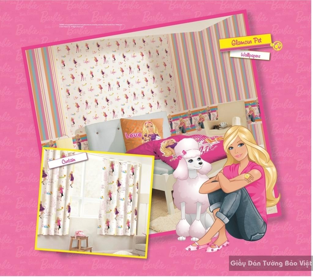 giấy dán tường trẻ em gái 1