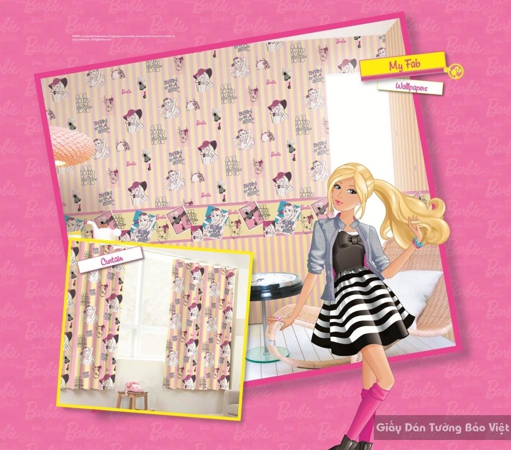 giấy dán tường trẻ em gái 2