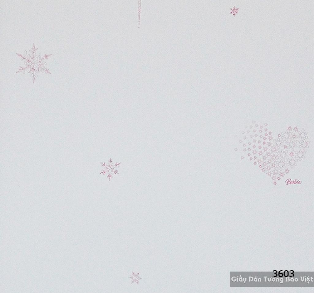 giấy dán tường trẻ em gái 3603