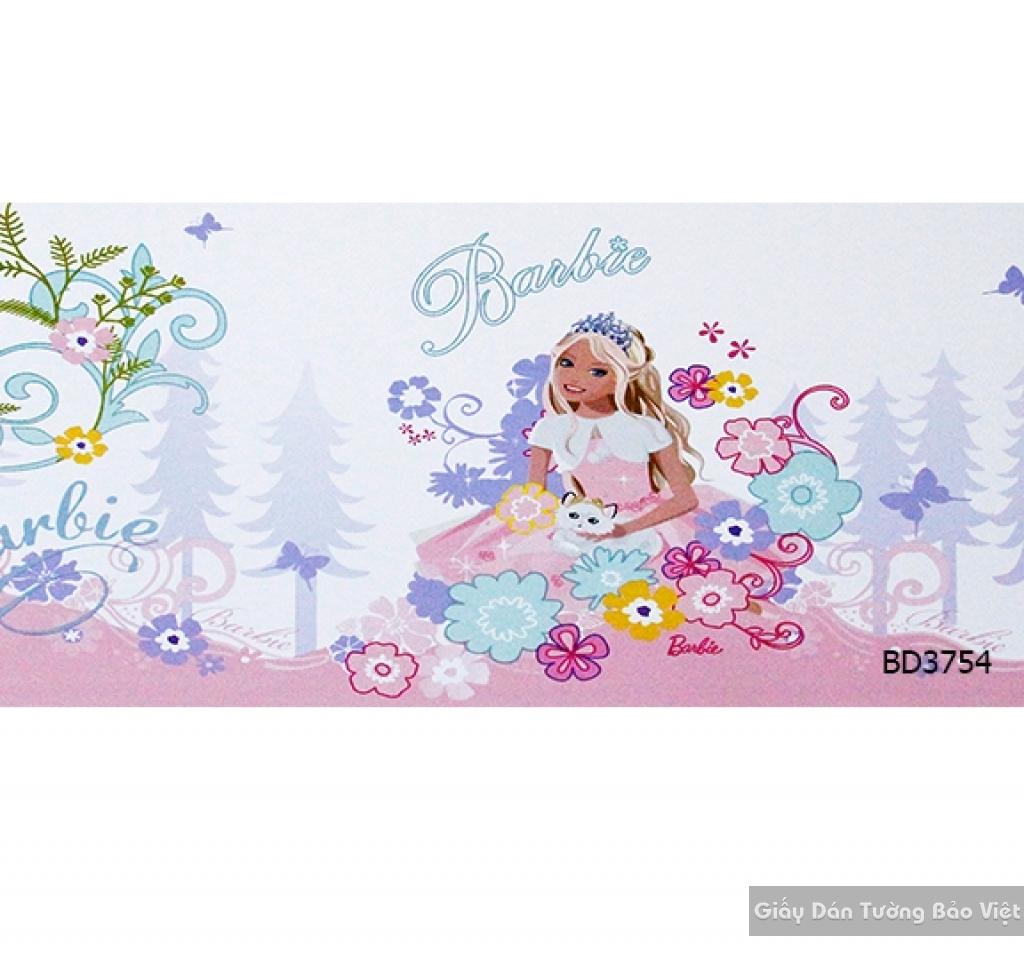 giấy dán tường trẻ em gái BD3754