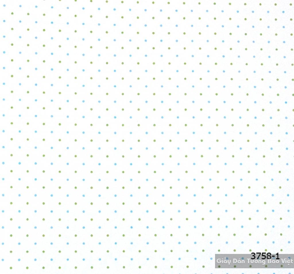 giấy dán tường trẻ em gái 3758-1
