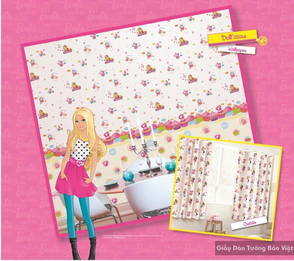 giấy dán tường trẻ em gái 4