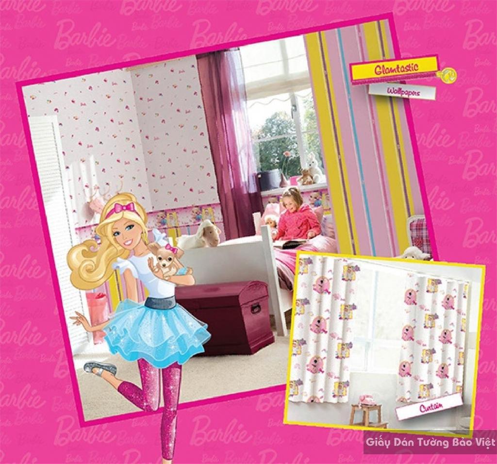 giấy dán tường trẻ em gái 5