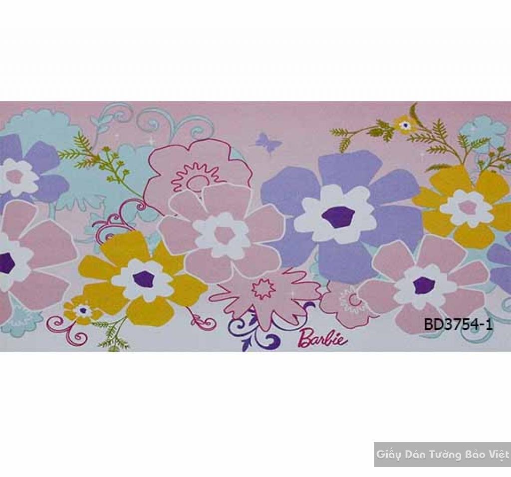 giấy dán tường trẻ em gái BD3754-1