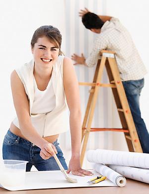 Những thao tác cơ bản khi vệ sinh giấy dán tường